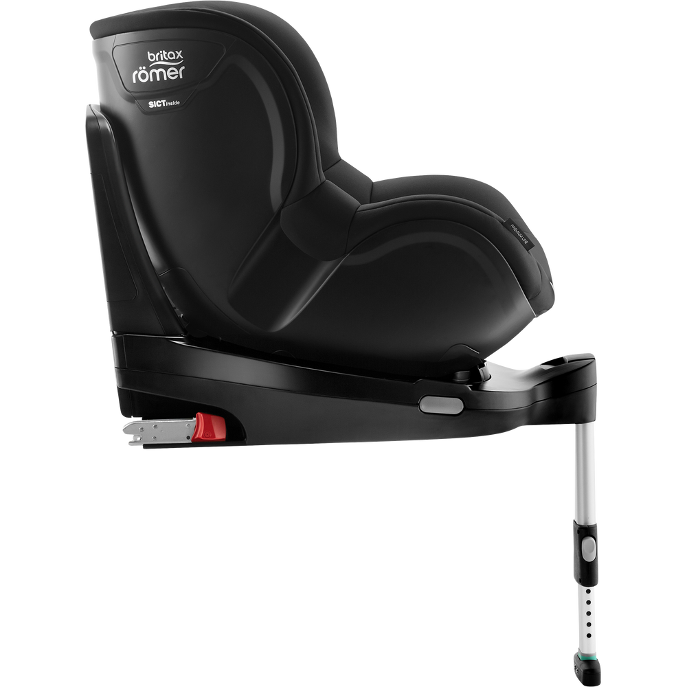 06 DUALFIX M i SIZE CosmosBlack 01 FWFRecline1 2017 72dpi 2000x2000 - Britax Römer DUALFIX M i-Size obrotowy fotelik samochodowy kolor Nordic Grey